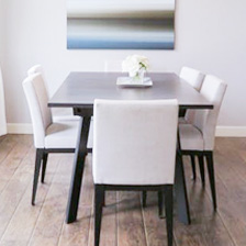 Boutique dining room